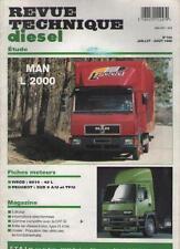 Revue RTA Diesel MAN L 2000 - IVECO 8210 42L PEUGEOT XUD 9 A/U No 194 1995