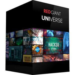 Red Giant Universe 3.3 Premium Full New for Premiere and After Effects [Win/Mac]