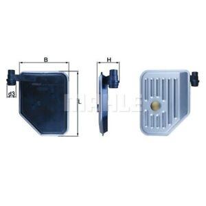 1 Filtre hydraulique, boîte automatique MAHLE HX 156 convient à HYUNDAI KIA