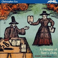 Exaudi - Fox A Glimpse of Sions Glory [CD]