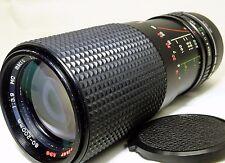 80-200mm f3.9 Manual Focus Lens adapted SONY E NEX 5R C3 3N a5100 a6300 cameras