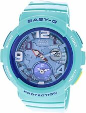 Casio Women's BGA190-3B Baby-G Analog-Digital Display Watch NEW