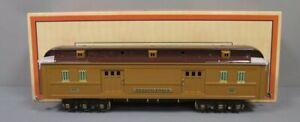 MTH 11-40028 Standard Gauge Pennsylvania Two-Tone Brown State Baggage Car NIB