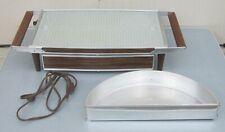 Vtg SALTON HOTRAY Automatic Food Warmer w/ Swivel Bin H-134 Hot Tray w/BOX NMint