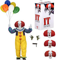 """NECA IT Pennywise Clown 1990 Ultimate 7"""" Action Figure 1:12 Collect 2018 NIB"""