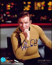 William Shatner Autographed Captain James Kirk Star Trek 8x10 Photo
