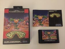 Sega Mega Drive Spiel Battletoads CIB / OVP Sammlungsauflösung