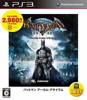 Batman: Arkham Asylum Best PS3 Warner Sony Playstation 3 From Japan