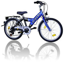 Fahrrad Kinderfahrrad 20 Zoll Shimano 6 Gang BLAU/Schwarz Licht STVO