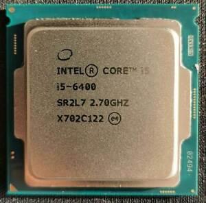 Intel i5 6400, 4x 2.70GHz / 3.30GHz, 4 Kerne, Sockel 1151, Skylake