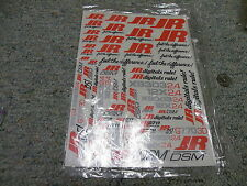 Decals / Stickers R/C radio Controlled JR DSM Feel the Difference Digitals  BB5