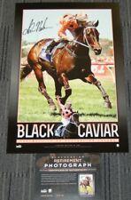 BLACK CAVIAR 25 WINS GREATEST HAND SIGNED LUKE NOLEN PRINT WINX DIVA PHAR LAP