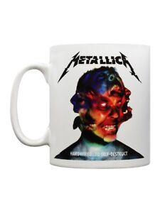 Metallica Mug for Tea or Coffee Hardwired White