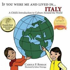 If You Were Me and Lived in...Italy: A Child's Introduction to-ExLibrary