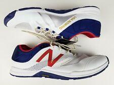 Mens New Balance Minimus Vibram USA Rowing/Rinning Shoes MX20RW5 Sz 16D Rd/Wt/Bl