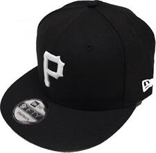 New Era Pittsburgh Pirates Blanc Noir Logo Casquette Snapback 9FIFTY