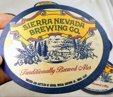 Sierra Nevada Brewing Co California Bar Coaster Beer lot 11 Free Shipping USA