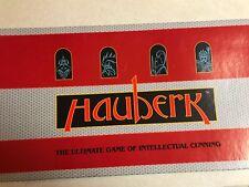 HAUBERK THE ULTIMATE GAME OF INTELLECTUAL CUNNING GAME 1991 NIP