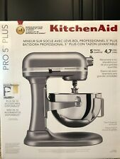 KitchenAid® Pro 5™ Plus 5 Quart Bowl-Lift Stand Mixer - Silver New in sealed box