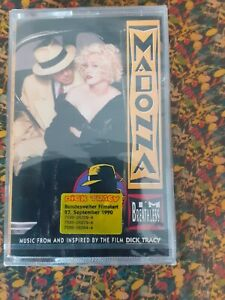 Madonna I´m Breathless Rare German Cassette Tape Sealed +Rare Dick Tracy Sticker