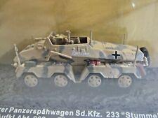 """IXO Die-cast Model 1:72 Scale Schwerer Panzerspahwagen Sd.Kfz.233 """"Stummel"""" 1943"""