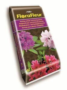Jiffy Florafleur Ericaceous Compost Potting Soil for Acid Loving Plants 40lt