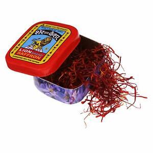 2 x Lion Saffron, Original Kashmir Lacha Saffron/ Kesar 1 gm