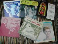 "JOB LOT 100 X 7"" SINGLES - 50's / 60's EP'S/CLASSICAL/SPOKEN WORD/DANCING/FOLK"