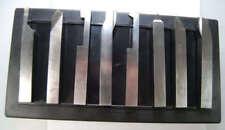 Conjunto de 8 herramientas de torneado Soba HSS Torno con caña de 16 mm De Chronos