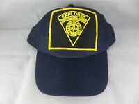 Vintage KC Explorer Investigation Agency Detective Guard Armored Car Service Hat