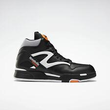 Reebok Pump Omni Zone [G57539] Men Casual Shoes Dee Brown Black/White-Orange