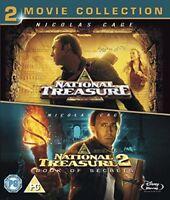 National Treasure 1  2 Double Pack [Blu-ray] [Region Free]