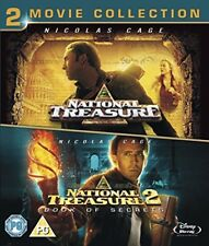 National Treasure 1  2 Double Pack [Blu-ray] [Region Free]