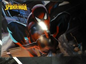 MARVEL Kids Placemats 2 Pack SPIDERMAN BPA-FREE Plastic - Easy Clean  12x18