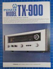 PIONEER Model TX-900 Flyer H1747