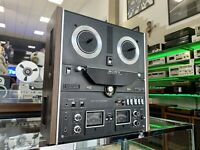 SONY TC-580 Open Reel 2 Ch Stereo 6 Head Tape Recorder Vintage 1971 Good Look