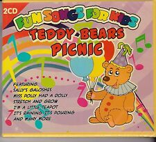 TEDDY BEARS PICNIC - FUN SONGS FOR KIDS - 2 CD's - NEW -