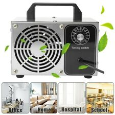 28g/h Ozone Generator Machine Purifier Air Cleaner Disinfection 28g Clean Silver