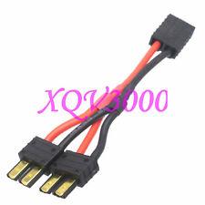 Traxxas TRX 1 Female to 2 Male Parallel 14AWG 10CM Wire E Revo LiPO Solderless