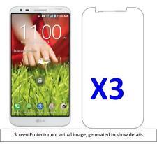 3x LG G2 Anti-Scratch Screen Protector w/ cloth