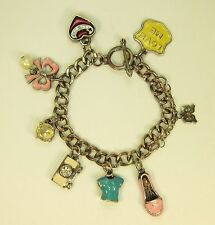 Vintage Juicy Couture charm bracelet with 8 charms 8 inches