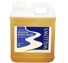LIQUID CASTILE SOAP HAND & BODY WASH BLEND 100% ORGANIC 1 L UNSCENTED