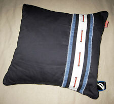 SQUARE - Nautica - Riverbend Blue, Navy , Red & White 18 inch DECORATIVE PILLOW