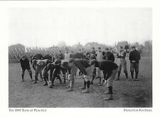 (19029) Postcard - Princeton Football - The 1899 Team At Practice - Modern card