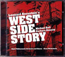 BERNSTEIN WEST SIDE STORY Barbara Bonney Michael Ball Howard BARRY WORDSWORTH CD