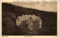 1929 Stempel BAD ESSEN auf AK Niedersachsen Partie am Kurhaus Waldhotel Hotel