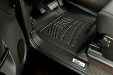 2012 - 2017 Custom Wade Floor Mats in Black Front Row Dodge Ram Mega Cab