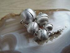 Magnetverschluß 925er Silber Magnetschließe 10 mm Schmuck Basteln Kette Armband