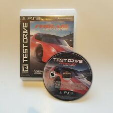 Test Drive: Ferrari Racing Legends (Sony PlayStation 3, 2012) PS3