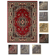 "Large Traditional 8x11 Oriental Area Rug Persien Style Carpet -Approx 7'8""x10'8"""